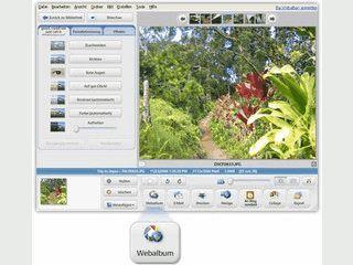 Umfangreiche Bildverwaltung mit allen erdenklichen Funktionen