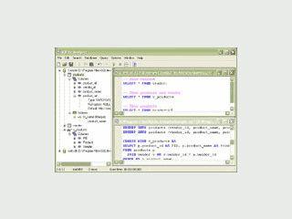 Grafisches Administrationswerkzeug für QLite Datenbanken