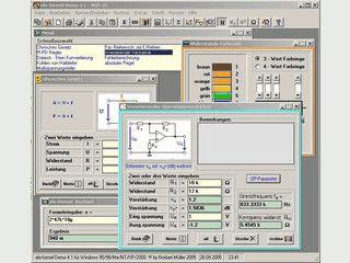 Software für verschiedenste Berechnungen in der Elektronik