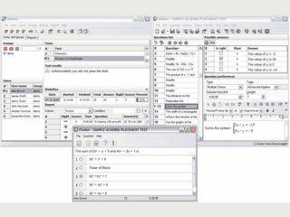 Ist ein umfangreiches Software-Paket zum Entwurf und zur Verwaltung von Tests.