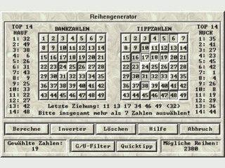 Zahlengeneratoren, Scheindruck, Statistiken und Auswertungen für D, A und CH.