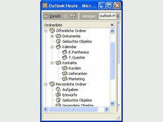 Reparatur von Persönlichen Ordnern in MS Outlook.