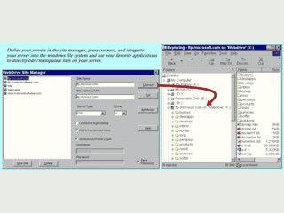 Verbindet FTP, SFTP, Frontpage-Server usw. als lokale Laufwerke