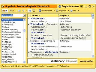 Kostenloses Deutsch - Englisch Wörterbuch mit über 300.000 Verweisen.