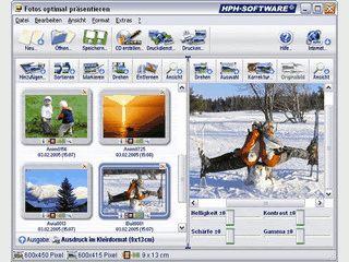 Fotos auf CD oder DVD brennen und für das Fotolabor vorbereiten.