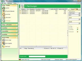 Fakturierungssoftware für Selbständige, kleine bis mittelständische Unternehmen