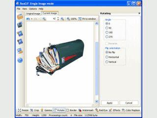 Einfache Bearbeitung für GIF-Dateien. Konvertierung in GIF-Dateien