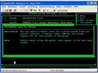 Leistungsstarker 3270/5250 Terminal Emulator