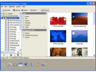 Automatischer Wechsel des Desktop-Wallpapers