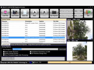 Mit Batch It! können Sie Bilder automatisch konvertieren und bearbeiten.