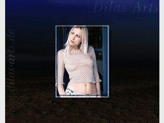 Einfacher Slideshow-Bildschirmschoner mit Models der Agentur Dilas Arts