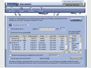 Anonymous Surfing verhilft Ihnen zu mehr Anonymität im Internet.