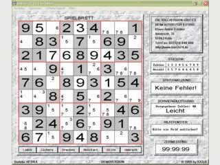 Logisches Zahlenrätsel fördert und erhält die Leistungsfähigkeit des Gehirns