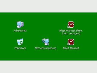 Synchronisiert die Systemzeit mit der CS-Atomuhr in Braunschweig