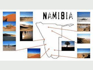 Bildschirmschoner: Namibias atemberaubende Landschaften