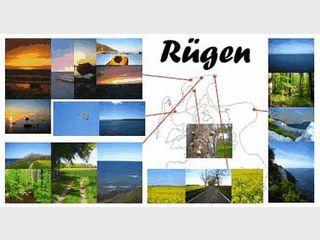 Bildschirmschoner mit Fotos von Rügen.
