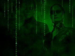 Gut gemachter Matrix Screensaver in drei Varianten