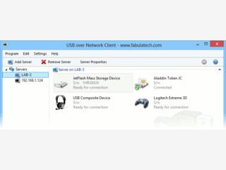 Beliebige USB-Geräte wie Scanner, Kamera usw. Netzwerkweit nutzen