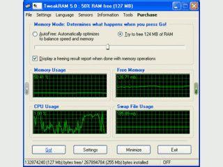 Optimiert den Arbeitsspeicher unter Windows