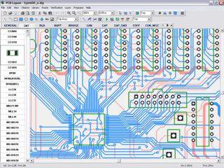Software zur Erstellung von Bauplänen für Platinen.