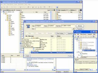 BitKinex ist eine Kombination aus FTP-, SFTP- und WebDAV- Client.