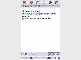 Englisch-Spanisch, Spanisch-Englisch für Sony Erricson Handys mit Symbian OS