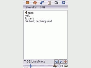 Deutsch-Italienisch und Italienisch-Deutsch Wörterbuch für Sony Ericsson Handys.