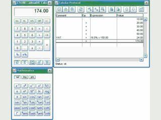 Plattformunabhängiger Rechner mit editierbarem Protokoll.