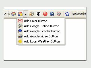 Google Toolbar Beta Version mit vielen neuen Funktionen.