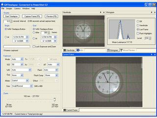 Zeitraffer-Aufnahmen mit einer Canon PowerShot Kamera über den PC erstellen