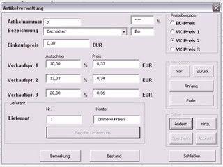 Finanzbuchhaltung für MS Excel XP.