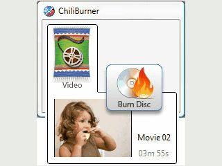 Einfache Erstellung von Video CDs und DVDs