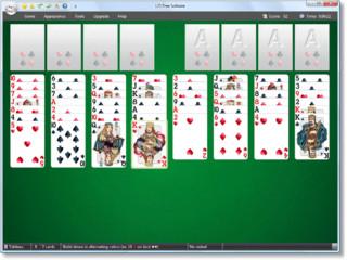 Kartenspielsammlung mit den 12 Solitaire Varianten.