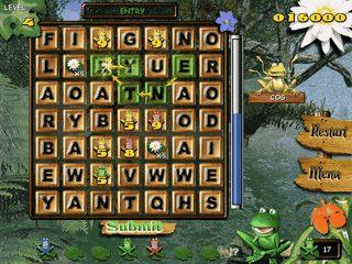 Nettes Denkspiel in dem Sie Wörter aus den 7x7 Buchstaben bilden sollen.