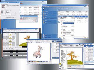 Software zur Erstellung von animierten Cartoons mit Musikuntermalung