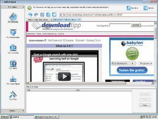 FLV Videos von zahlreichen Quellen automatisch downloaden.