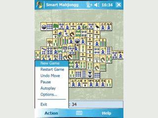 Smart Mahjongg ist die Adaption eines bekannten Brettspiels für Pocket PCs