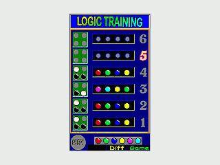 Sie haben nur 6 Versuche um eine Farbkombination von 4 Steinen zu erraten.
