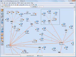 Grafische Darstellung von Netzwerken und Tools zur Administration