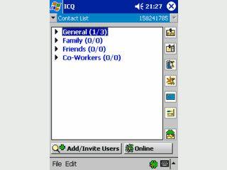 ICQ Client für Mobiltelefone
