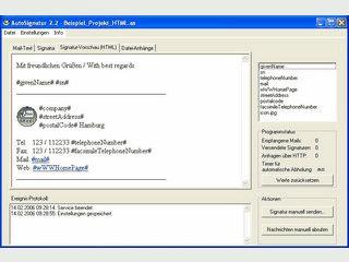 Corporate Identity für E-Mails