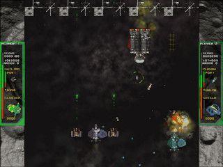 Commando Xenidis ist ein Top-Down Ballerspiel für 1 bis 4 Spieler.