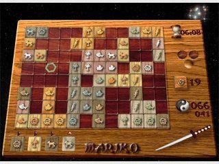 Mariko3D ist ein gut gestaltetes, taktisches  Brettspiel, das an Domino erinnert