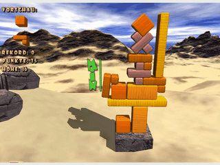 Trembling Towers ist ein aussergewoehnliches Geschicklichkeitsspiel!