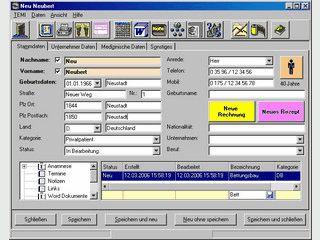 Software für die Orthopädische Schuhtechnik, Hebammen, Audiometristen.