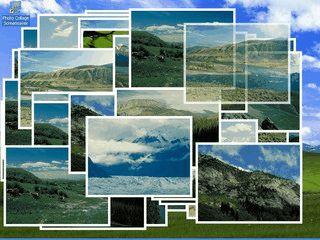 Erzeugt zufällige Collagen aus Ihren eigenen Bildern aus Bildschirmschoner