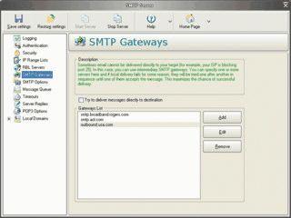 Mailserver mit allen üblichen und vielen zusätzlichen Funktionen.