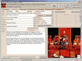 Software für die Verwaltung Hörbüchern, Hörspielen usw.