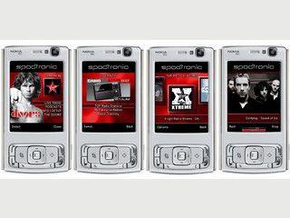 Radiosender und Podcasts Ihrem Handy abspielen.