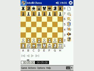 Schachspiel mit zahlreichen Einstellungen und Onlineanbindung an ChessClub.com
